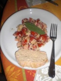 Parmesansalat nach Olli - Rezept