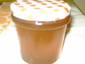 Apfelgelee mit Sternanis - Rezept