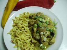 Curry-Pute - Rezept
