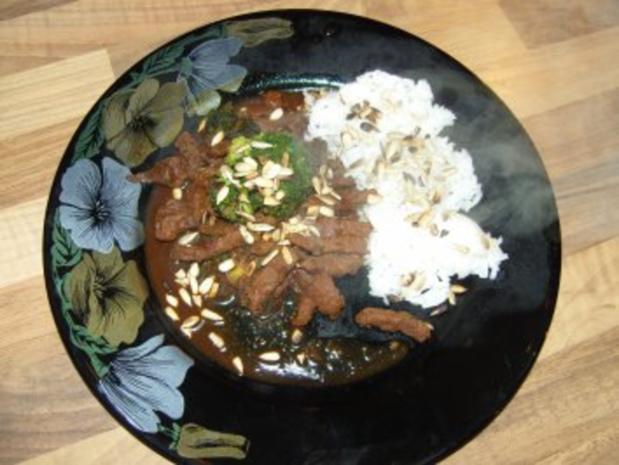 chinesisches -scharfes Rindfleisch mit Brokkoli - Rezept - Bild Nr. 4