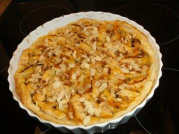 Rezept: Apfel-Mandel Tarte