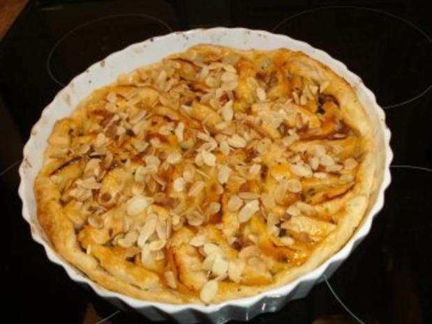 Apfel-Mandel Tarte - Rezept