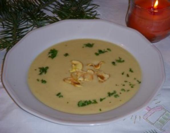 Pastinaken-Apfel-Suppe - Rezept