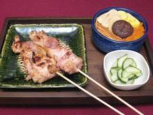 Yakitori mit Gomoku-Reis - Rezept