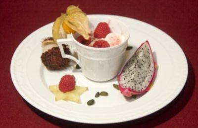 Pannacotta mit Früchten (Magdalena Brzeska) - Rezept