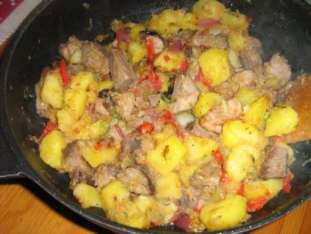 Filetstreifen mit Bratkartoffeln - Rezept - Bild Nr. 5