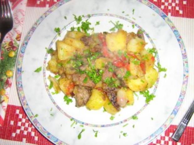Filetstreifen mit Bratkartoffeln - Rezept - Bild Nr. 6