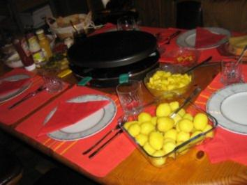 Rezept: Raclette für unsere Silvesterfeier