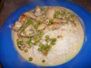 Hähnchengeschnetzeltes - Rezept