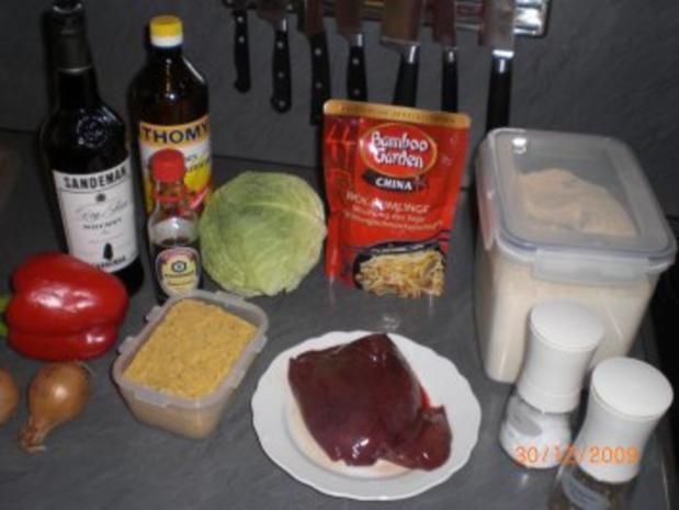 Chinesische Leber - Rezept - Bild Nr. 2