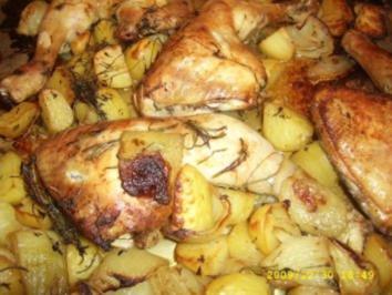 Brathähnchen aus der Wundertüte - Rezept