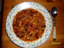 Schmorgurken- Gemüsetopf mit Hack - Rezept