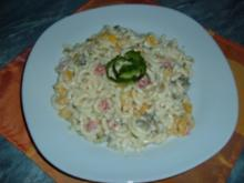 Salate : Nudelsalat-SCHNEEROSE - Rezept