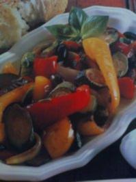 Farbenfroher italienischer Paprikasalat - Rezept