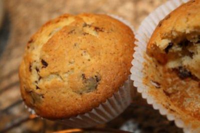 Marzipan - Schokoladen - Muffins - Rezept