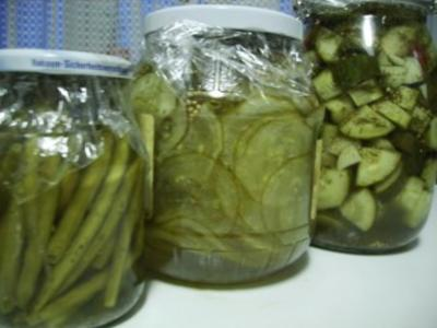 Saure Gurken - Salzgurken - Pickles - Rezept