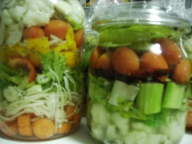Saure Gurken - Salzgurken - Pickles - Rezept - Bild Nr. 3