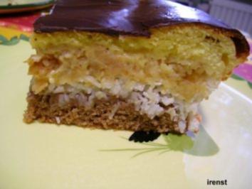 Rezept: Kokos-Apfel-Kuchen