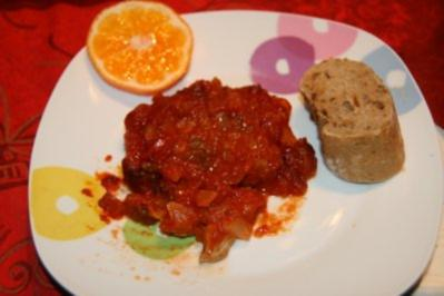 Schnitzelchen in Taco-Soße - Rezept