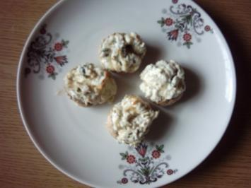 Champignons gefüllt 1 - Rezept
