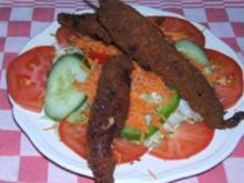 Gefüllte Chiles mit Krabbenfleisch - Rezept
