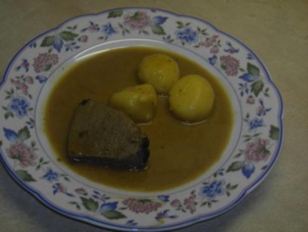 Fleisch - Hirschbraten - Rezept