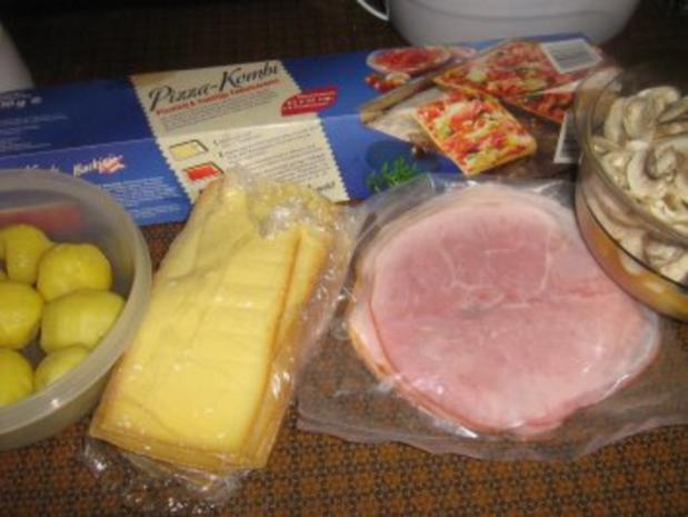Raclette - Pizza - Rezept - Bild Nr. 2