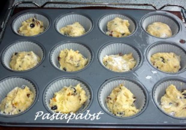 Stollen Muffins - Rezept - Bild Nr. 2