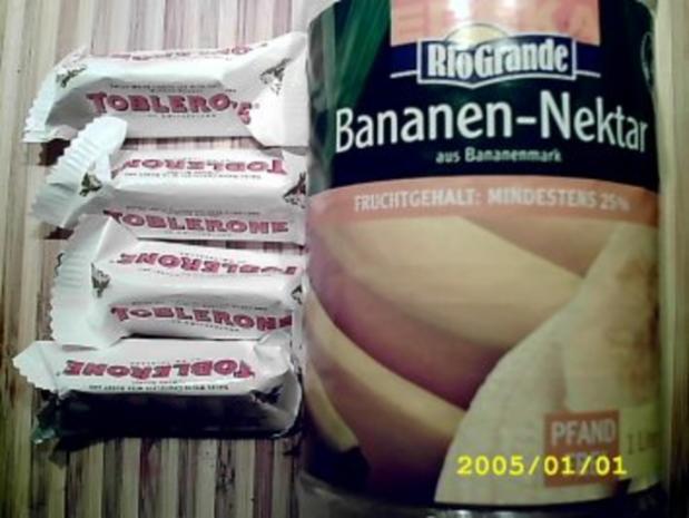 "Heiße Weiße: ""golden banana"" - Rezept - Bild Nr. 2"