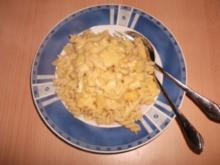 Ananas-Hühnchen mit Nudeln - Rezept