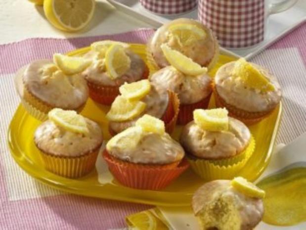 Zitronen-Muffins - Rezept