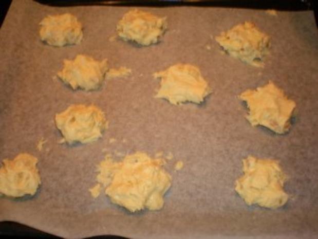 Dessert: White chocolate almond cookies - Rezept - Bild Nr. 3