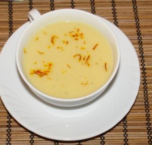 Fenchel - Safran Suppe - Rezept