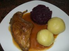 Fleisch:   KANINCHEN - Rezept