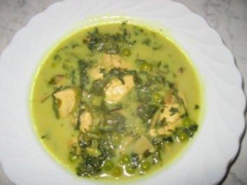Hähnchen-Kokos-Suppe - Rezept