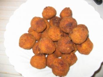 Panierte Frikadellenbällchen - Rezept
