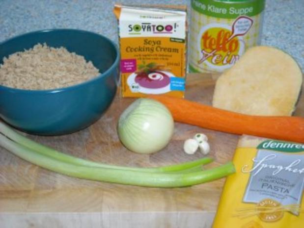 Pasta - Bolognese vegan - Rezept - Bild Nr. 2