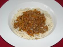 Pasta - Bolognese vegan - Rezept