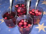 Silvester-Früchte-Bowle - Rezept