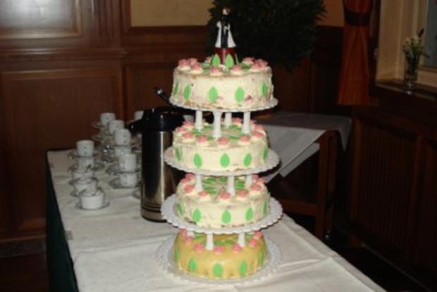 Torte Erdbeer-Sahne - Rezept