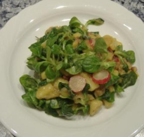 Bunter Kartoffelsalat mit Rapunzel - Rezept