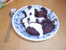 Dessert...Schokoladenauflauf mit Brötchen - Rezept