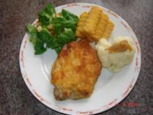 Fleisch : gefüllte Schnitzel mit Camenbert - Rezept