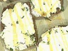 Steinofenbrot mit Ziegenfrischkäse - Rezept