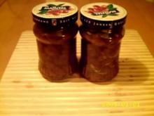 Wenn die Tiefkühltruhe zickt Part 1.0:Gelbe Amarenakirschen & Mandelsirup - Rezept