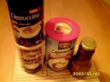 Wenn die Tiefkühltruhe zickt Part 2.1:Cappucino-Schoko-Sirup - Rezept