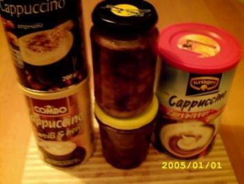 Wenn die Tiefkühltruhe zickt Part 2.2:Schokocappucino-Kirschen - Rezept