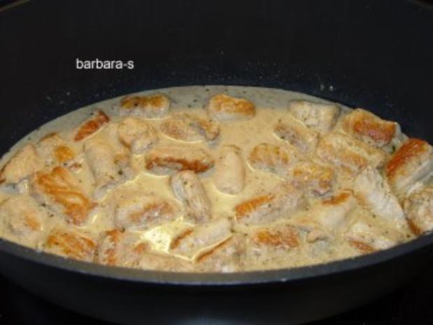 Fleisch - Gerichte: Saltimbocca  von der Pute - Rezept - Bild Nr. 3