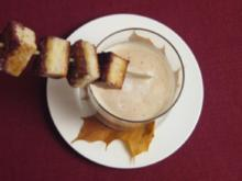 Selleriesüppchen mit Kaffeeschaum - Rezept