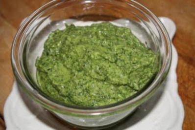 Rezept: Pesto Genovese original italienisch ~ grün